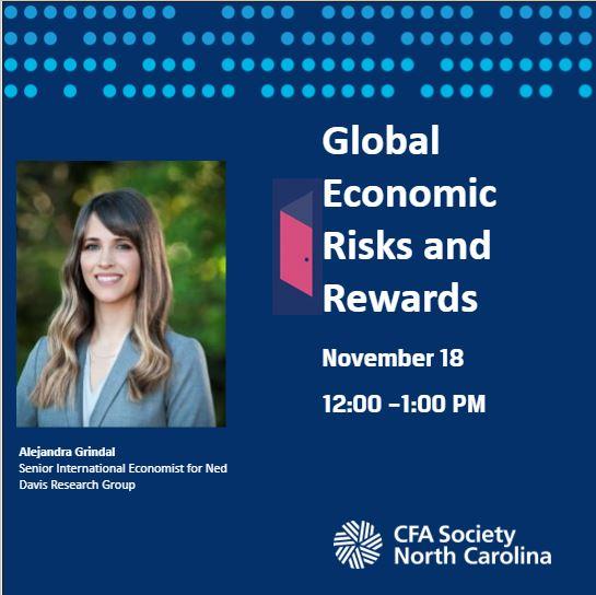 Global Economic Risks and Rewards